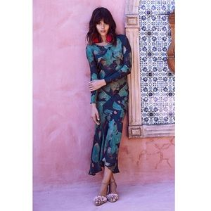 SAMPLE Stone Cold Fox Montague Gown green lily